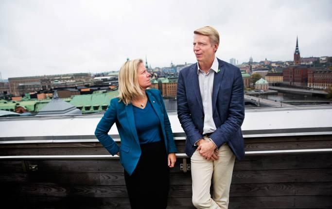 Magdalena Andersson och Per Bolund