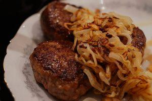 Pannbiff med köttkvarn